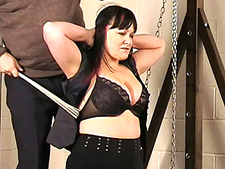 Slave Girl China Pussy And Tit Torture